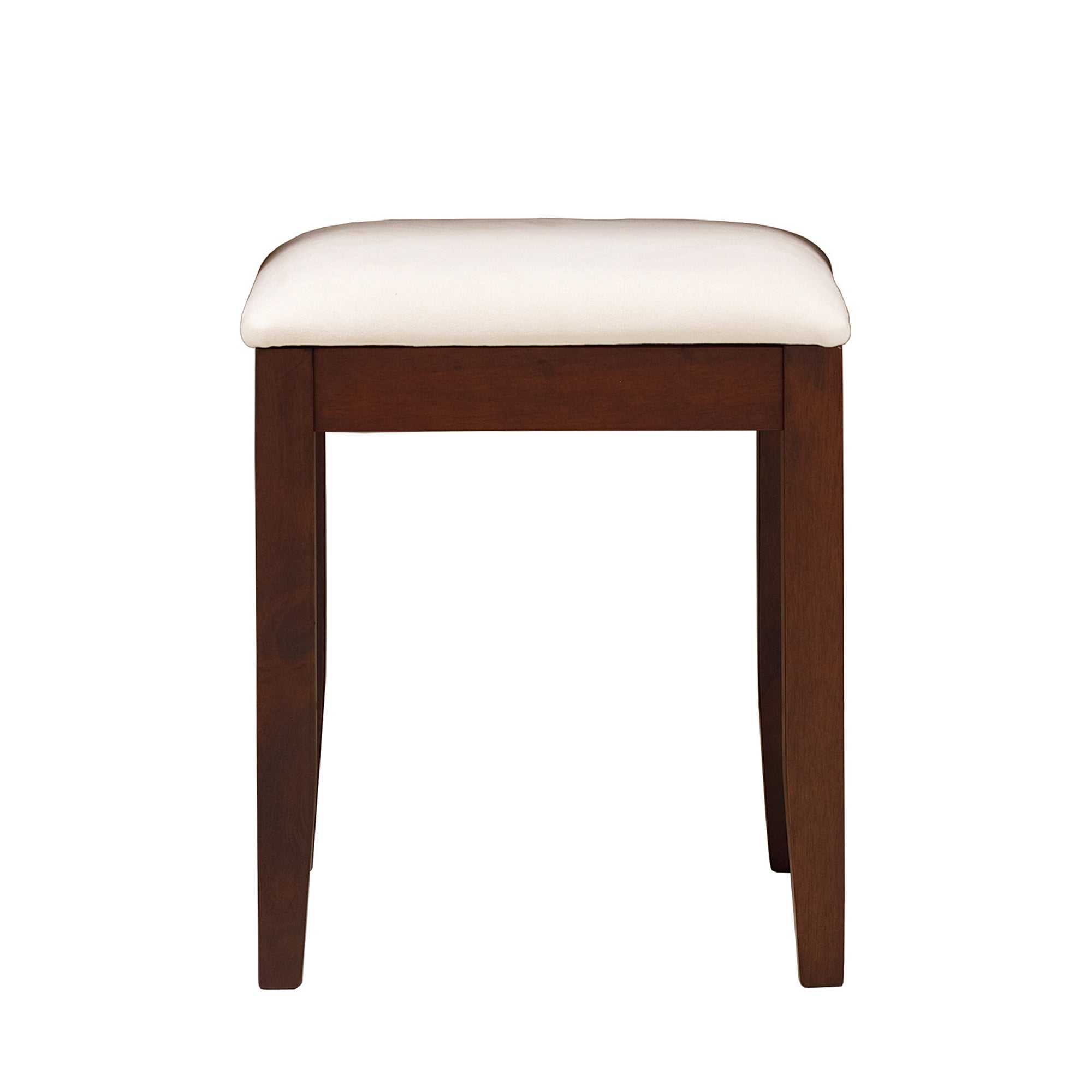 Monet Dark Wood Stool