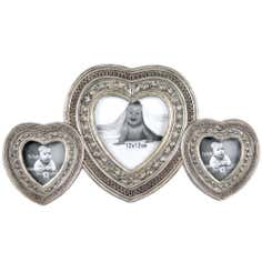 3 Aperture Heart Photo Frame