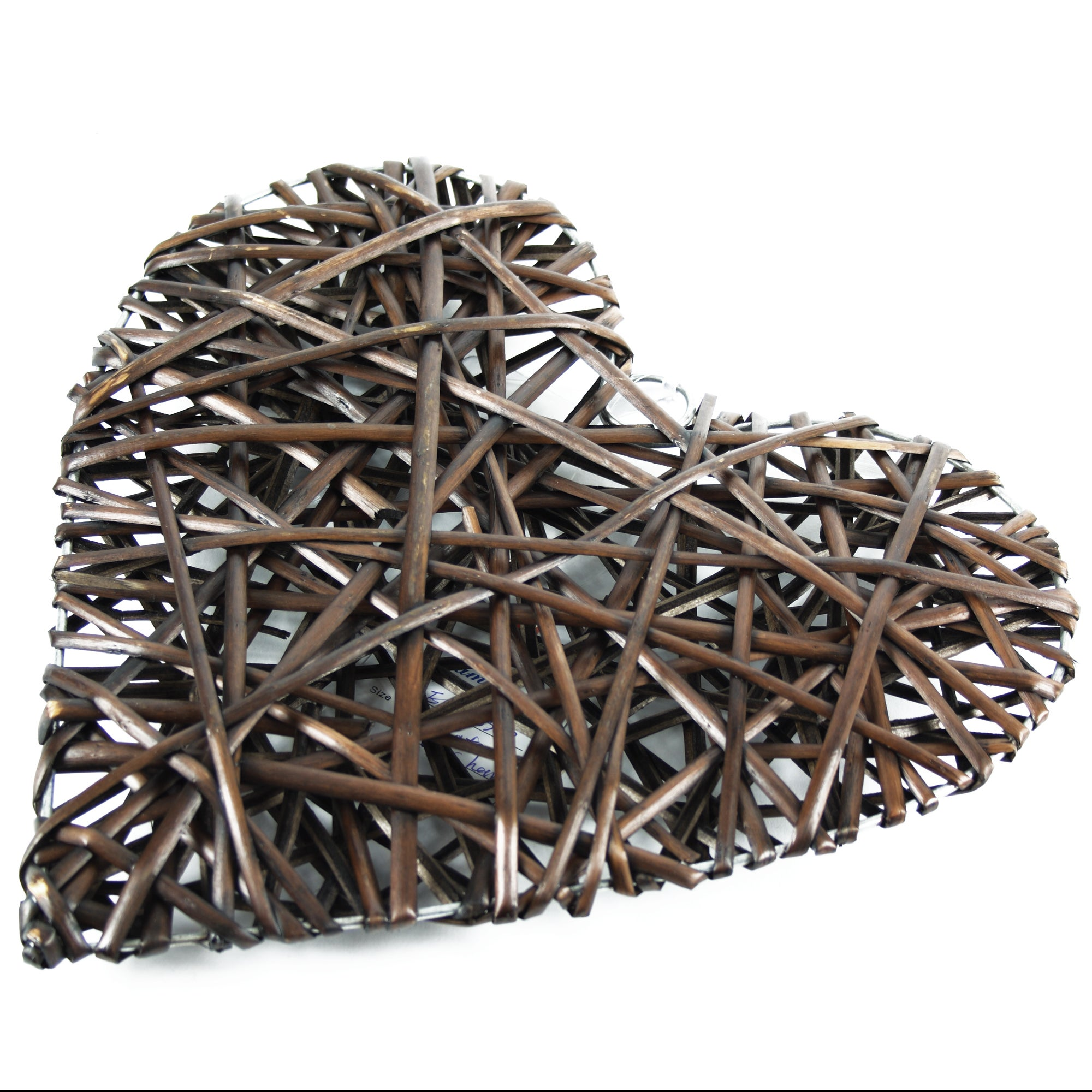 Chocolate Wicker Heart