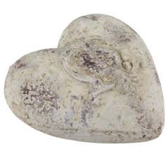 Decorative Stone Effect Heart Stone