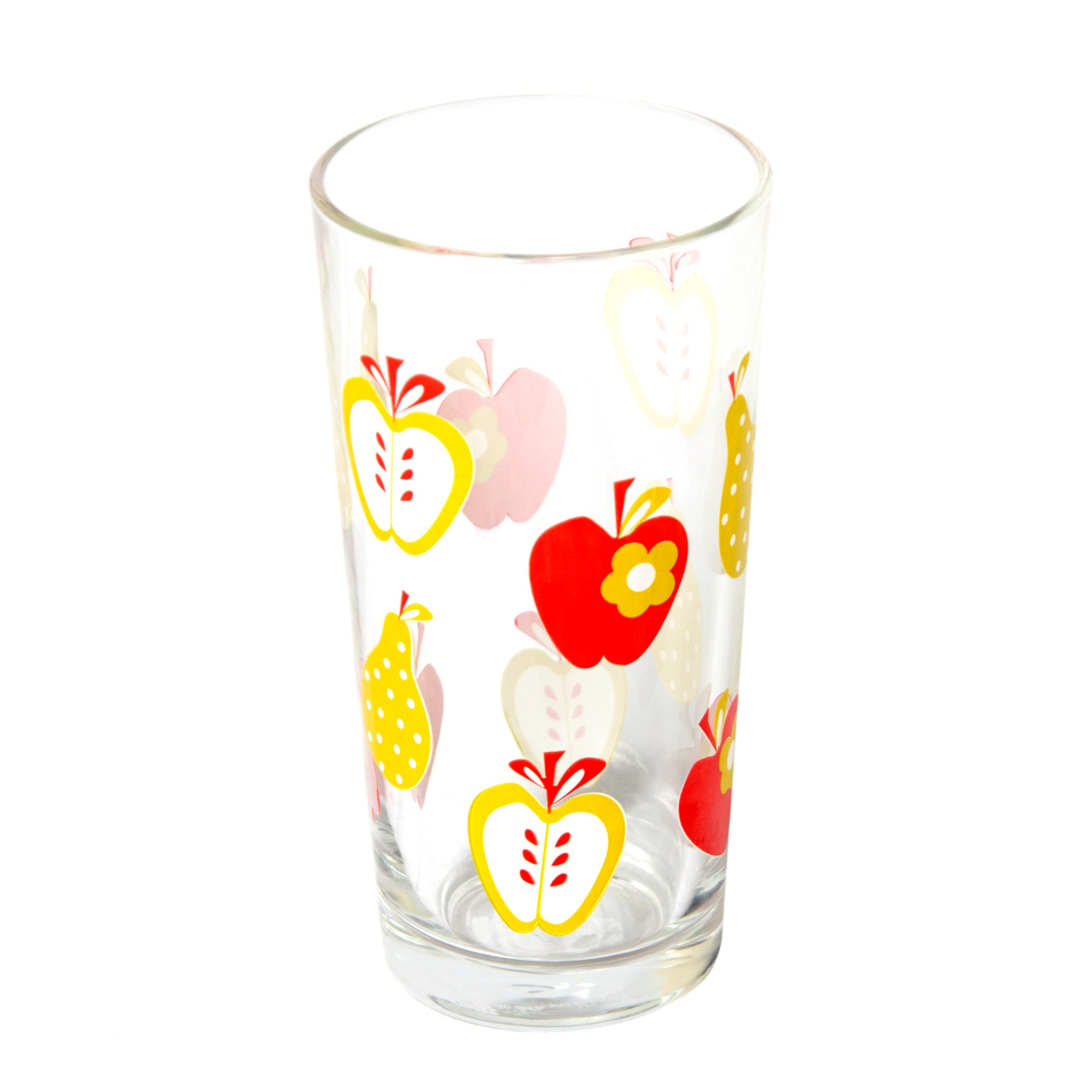 Red Fruit Hiball Glass