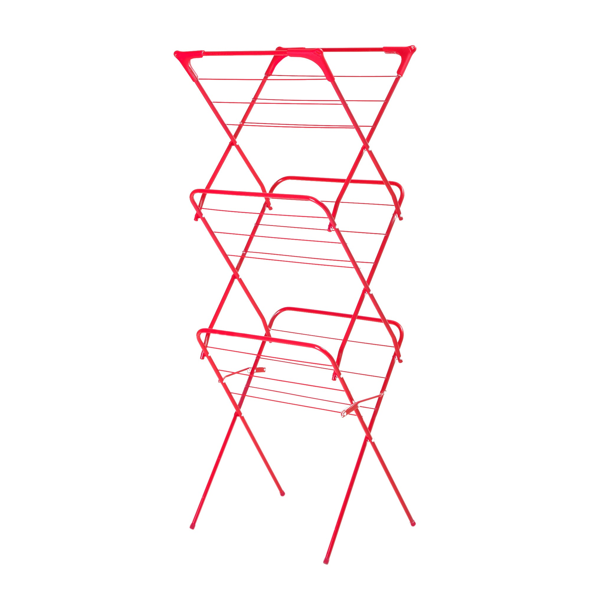 Red Spectrum Collection Slim 3 Tier Airer