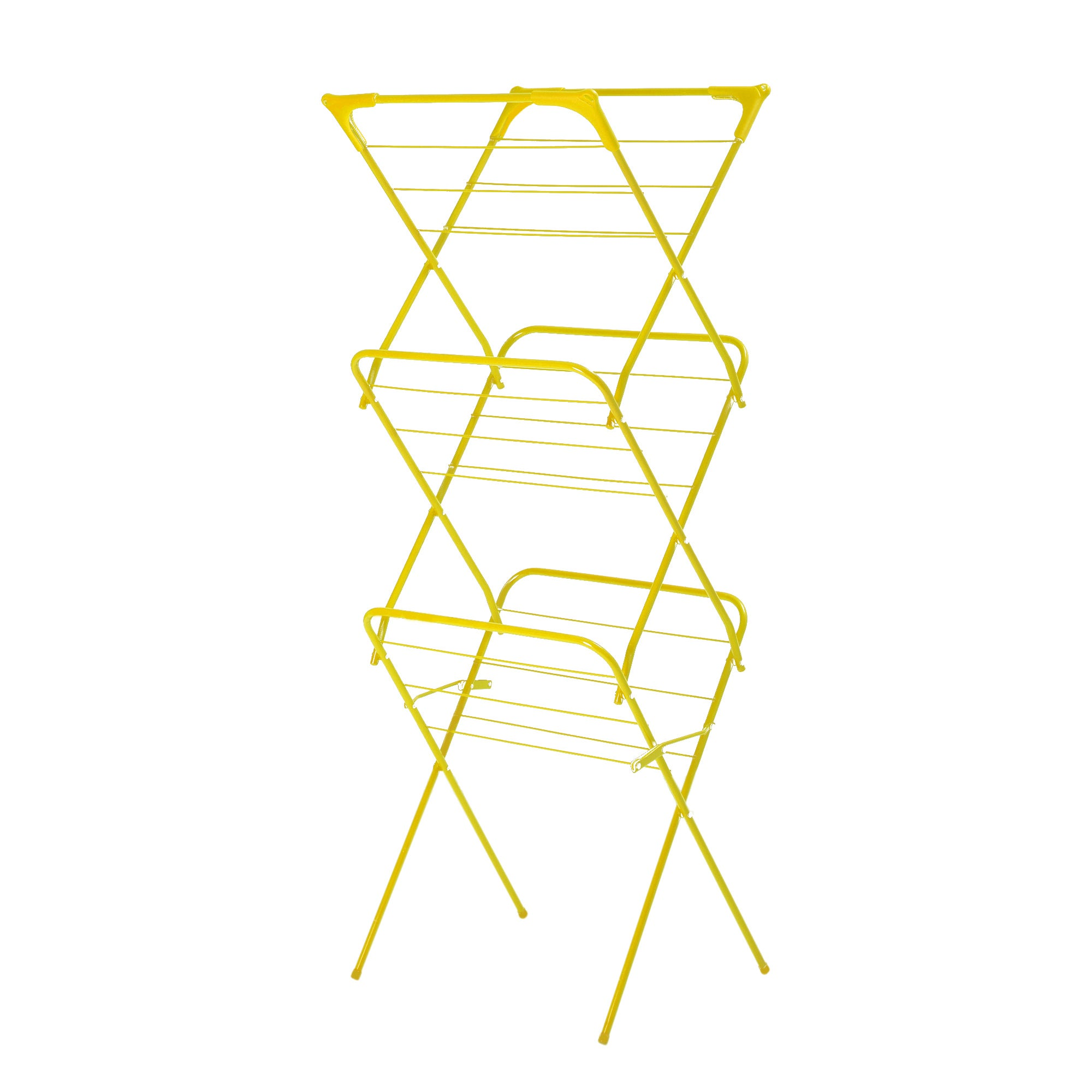 Lime Spectrum Collection Slim 3 Tier Airer