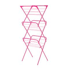 Raspberry Spectrum Collection Slim 3 Tier Airer