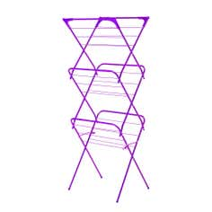 Purple Spectrum Collection Slim 3 Tier Airer