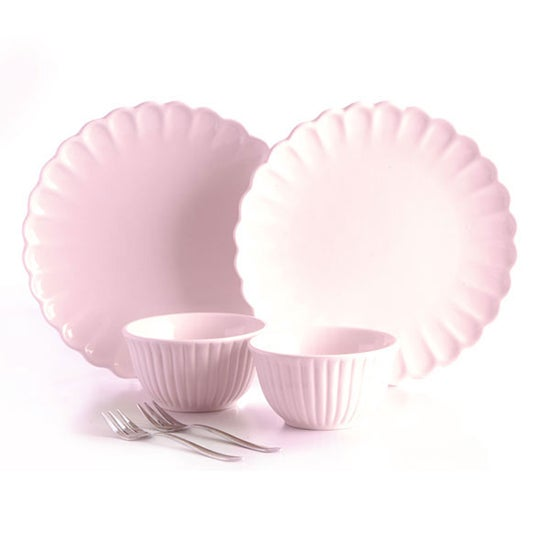 Rayware Pink Afternoon Tea 6 Piece Serving Set