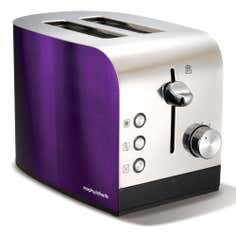 Morphy Richards 44207 Plum Accents 2 Slice Toaster