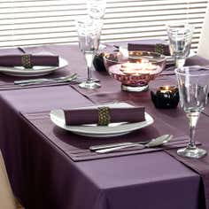 Purple Spectrum Collection Tablecloth