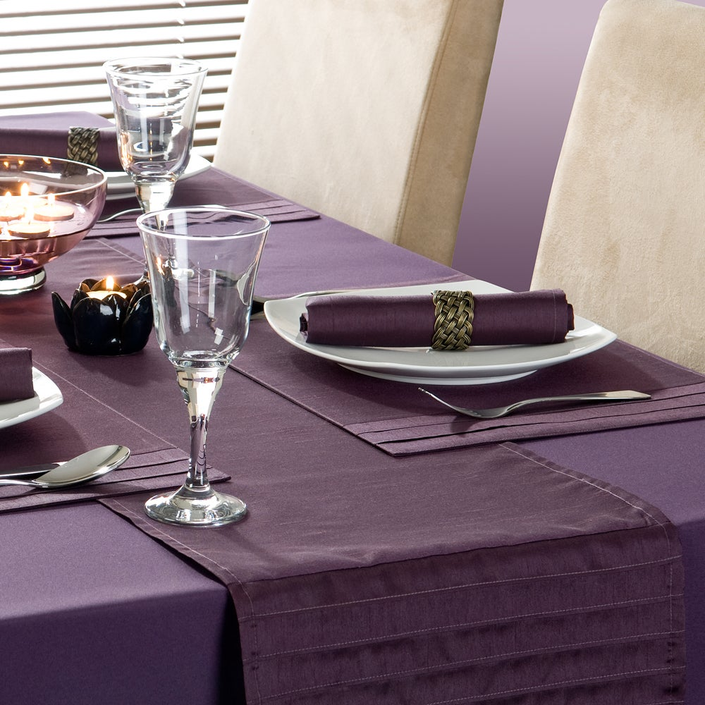 Purple Spectrum Collection Table Runner