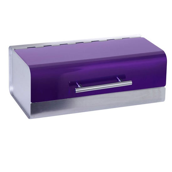 Purple Spectrum Collection Bread Bin