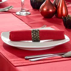 Red Spectrum Collection Pack of 4 Napkins