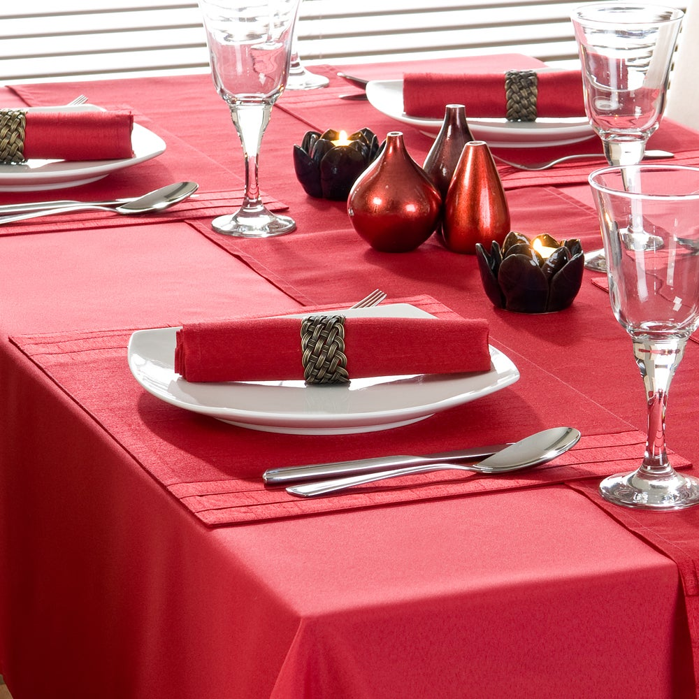 Red Spectrum Collection Placemat