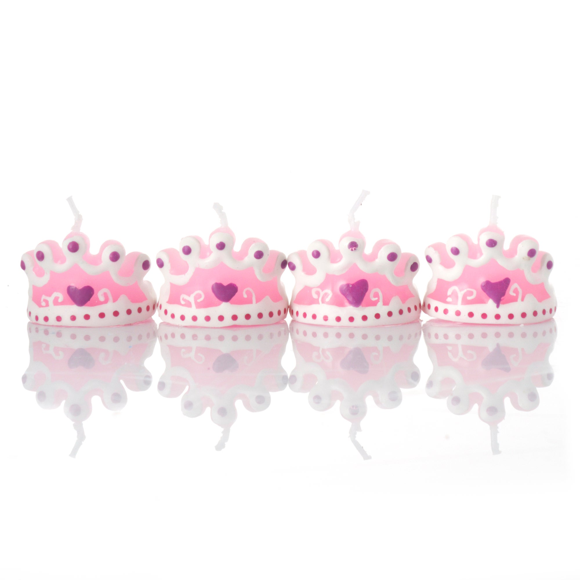 Cookshop Collection Crown Cake Candles