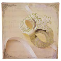 Venetian Mask Canvas