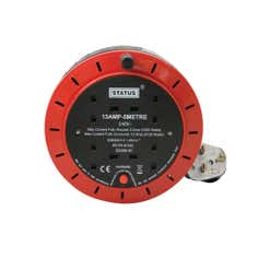 Status 4 Way 5 Metre Extension Reel