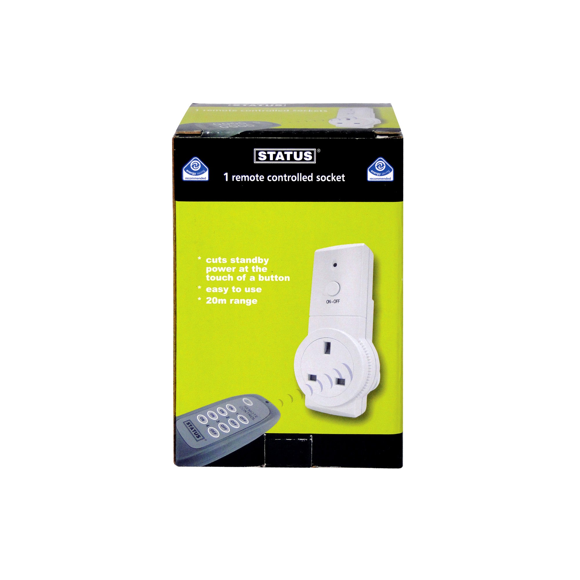 Status Remote Control Socket