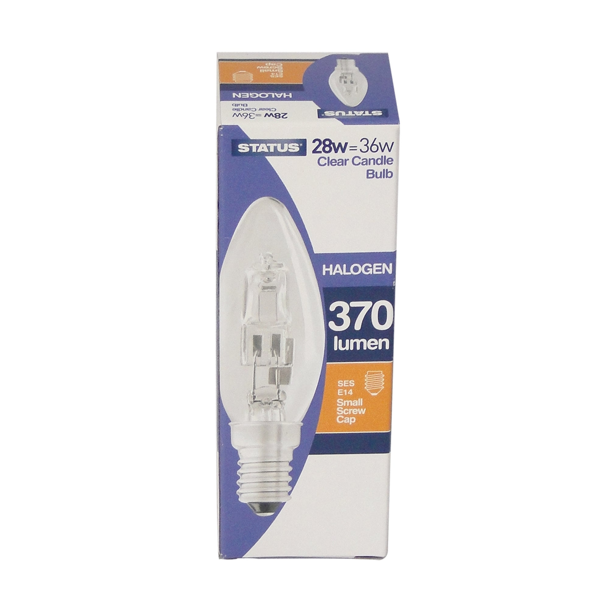 Status Halogen Eco 28 Watt Candle Bulb