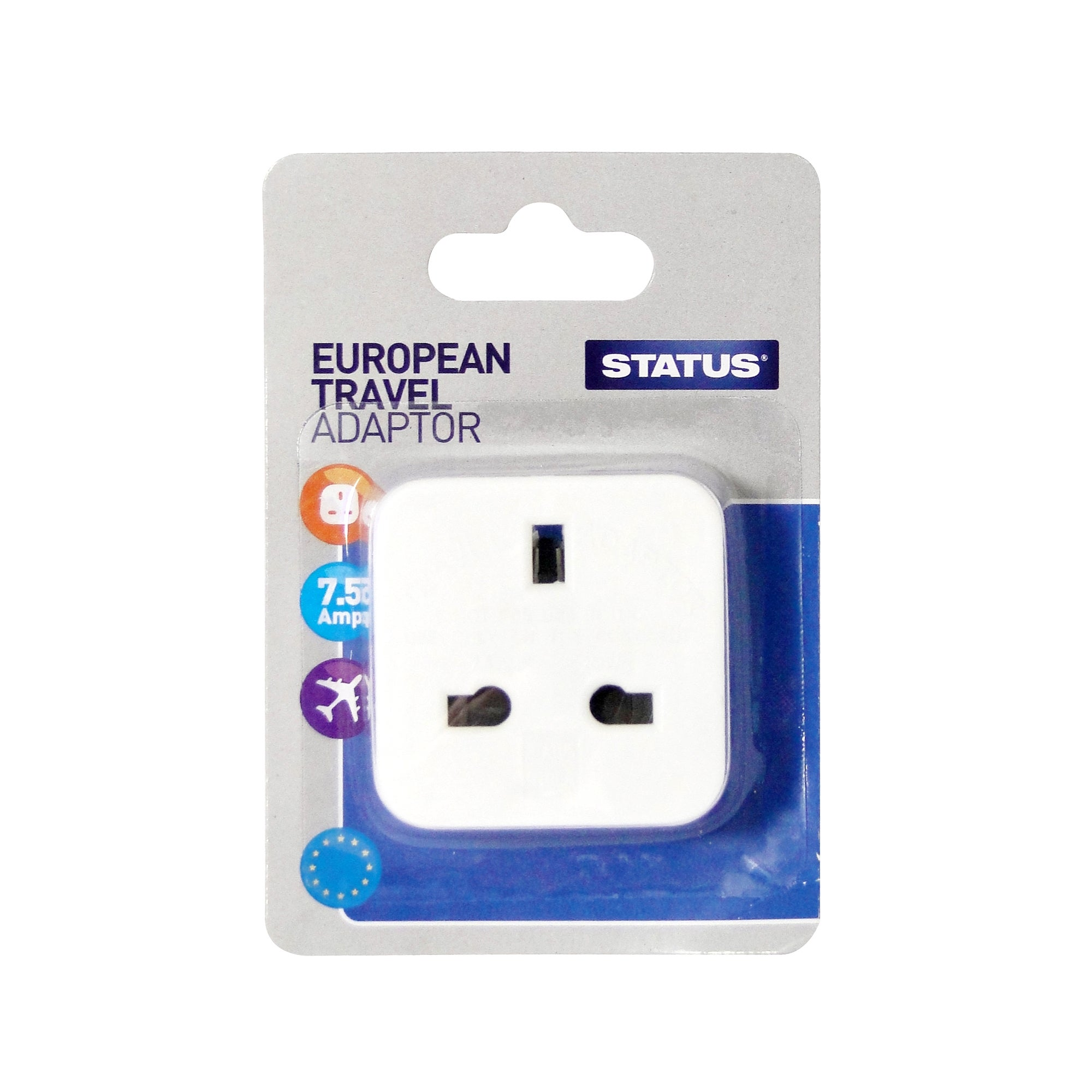 Status European Travel Adaptor