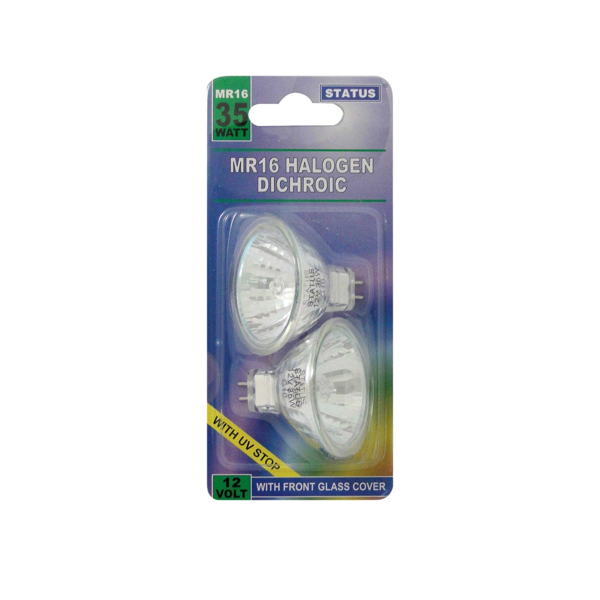 Status 35 Watt Halogen Bulb 2 Pack