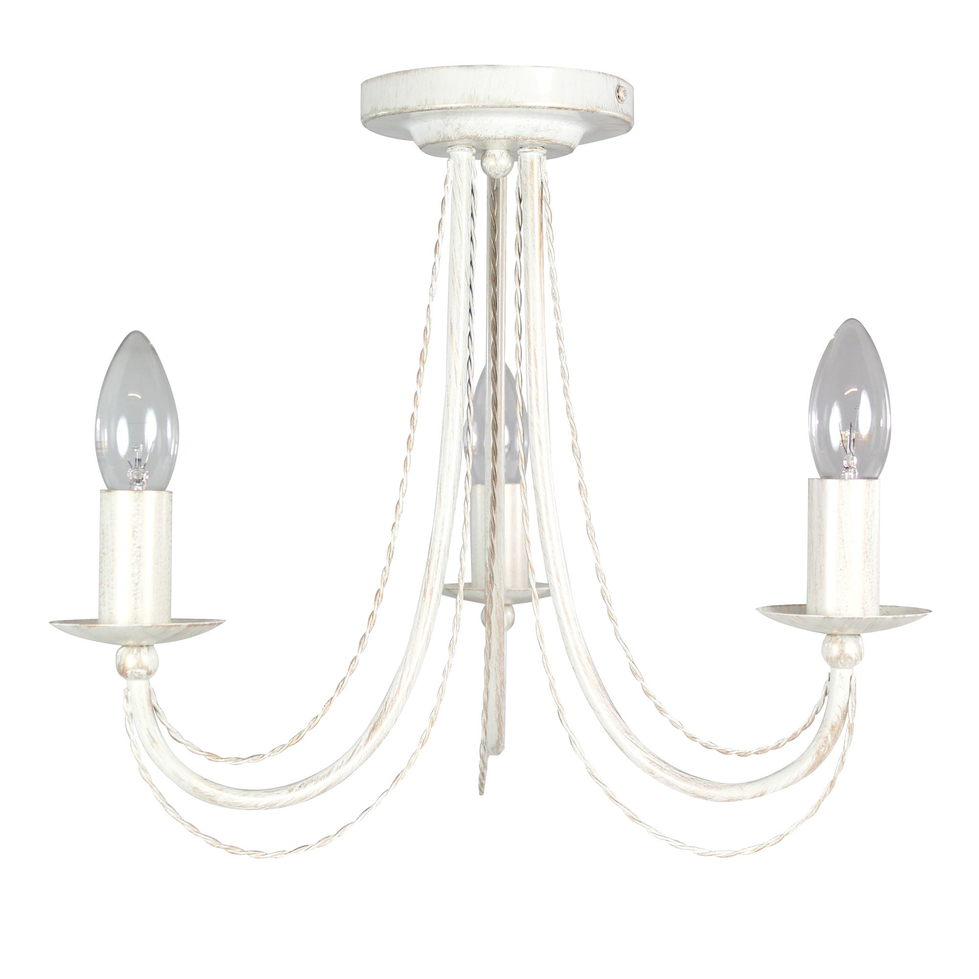 Classic Rope 3 Light Fitting
