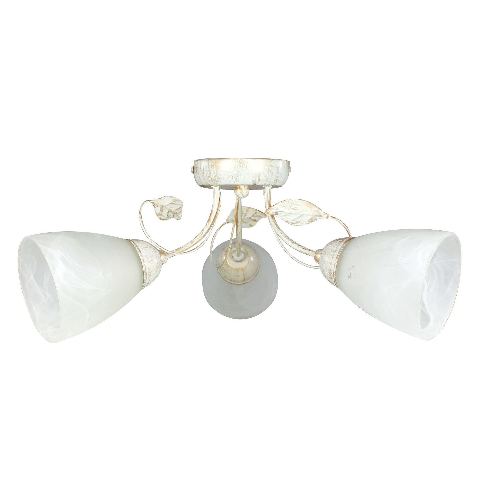 Classic Swirl 3 Light Cream Fitting