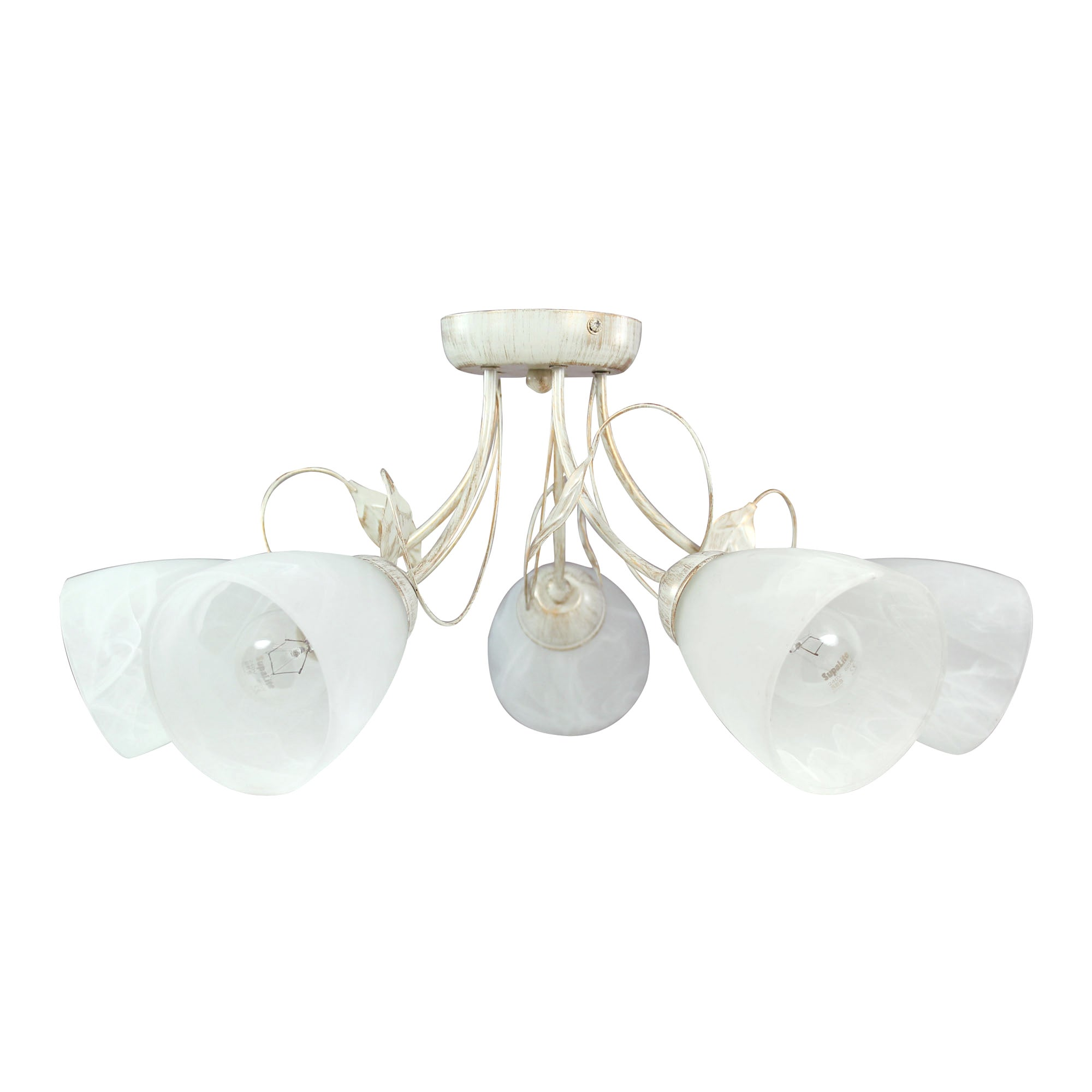 Classic Swirl 5 Light Cream Fitting