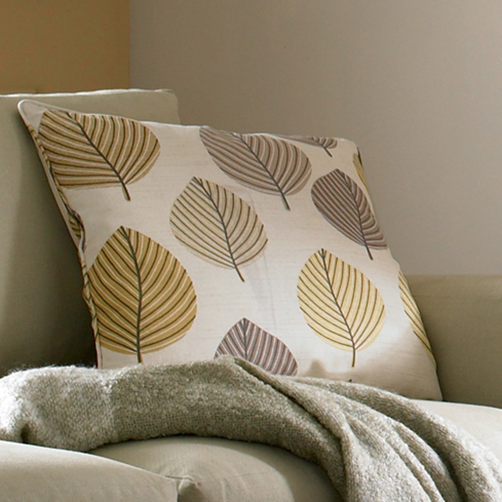 Ochre Regan Collection Cushion
