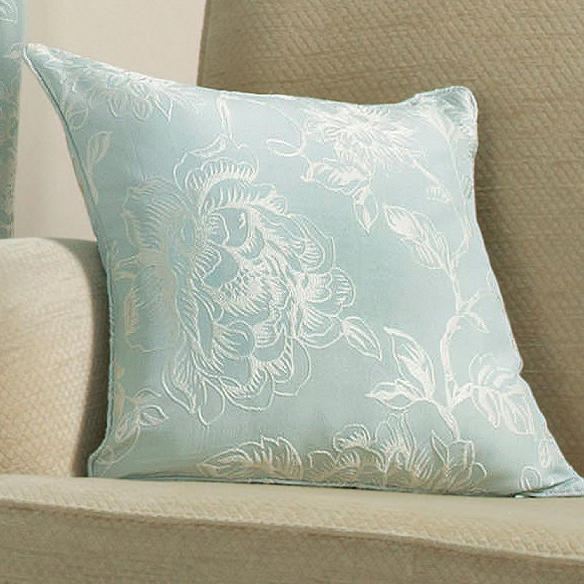 Duck Egg Frensham Collection Cushion