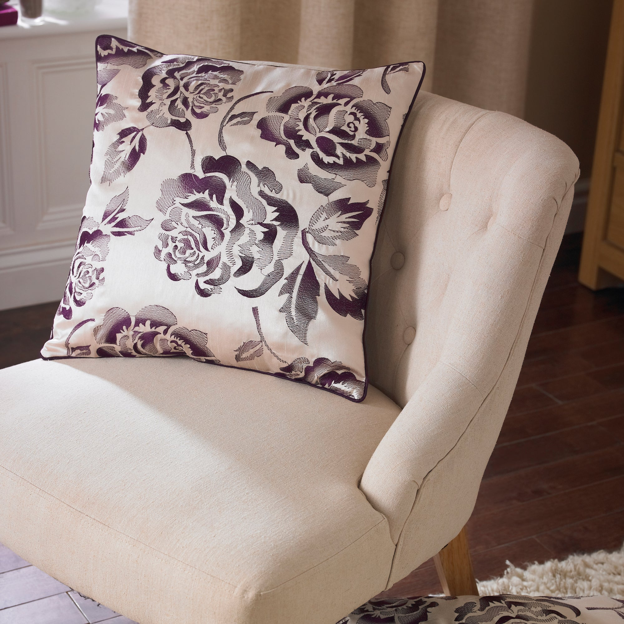 Plum Emily Collection Cushion