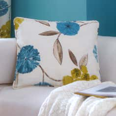 Teal Freya Collection Cushion