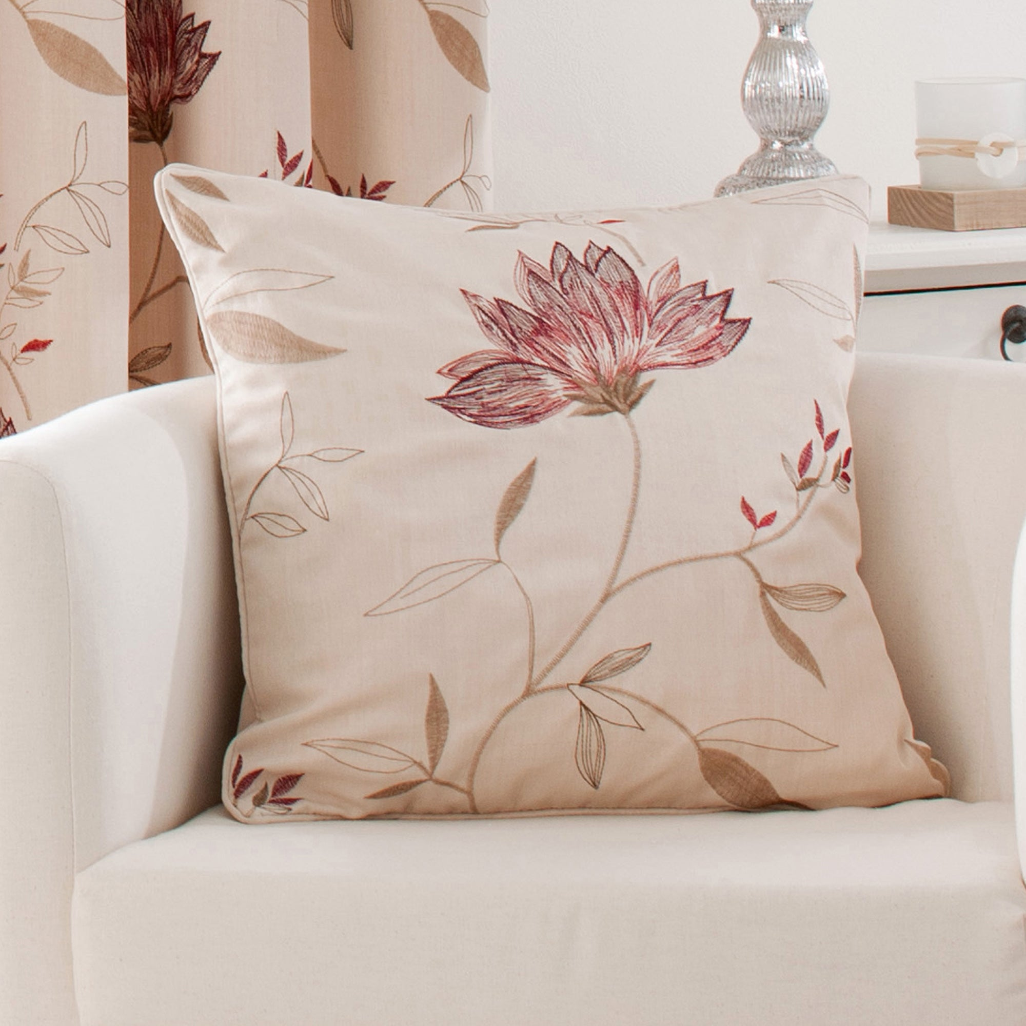 Red Amelia Collection Cushion