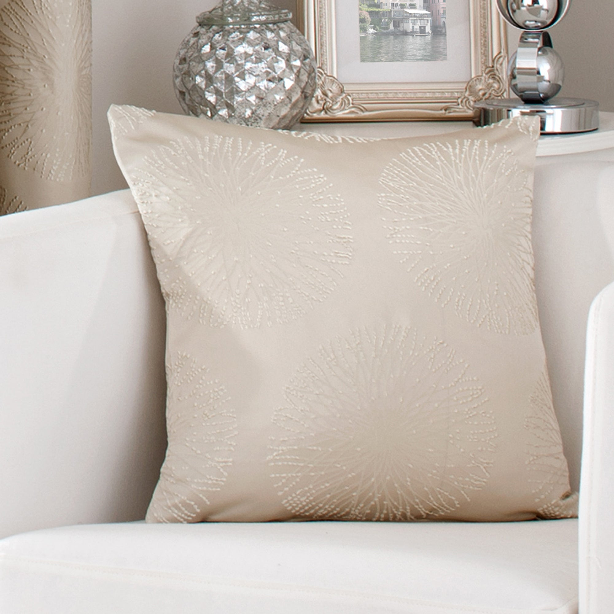 Gold Trinity Collection Cushion