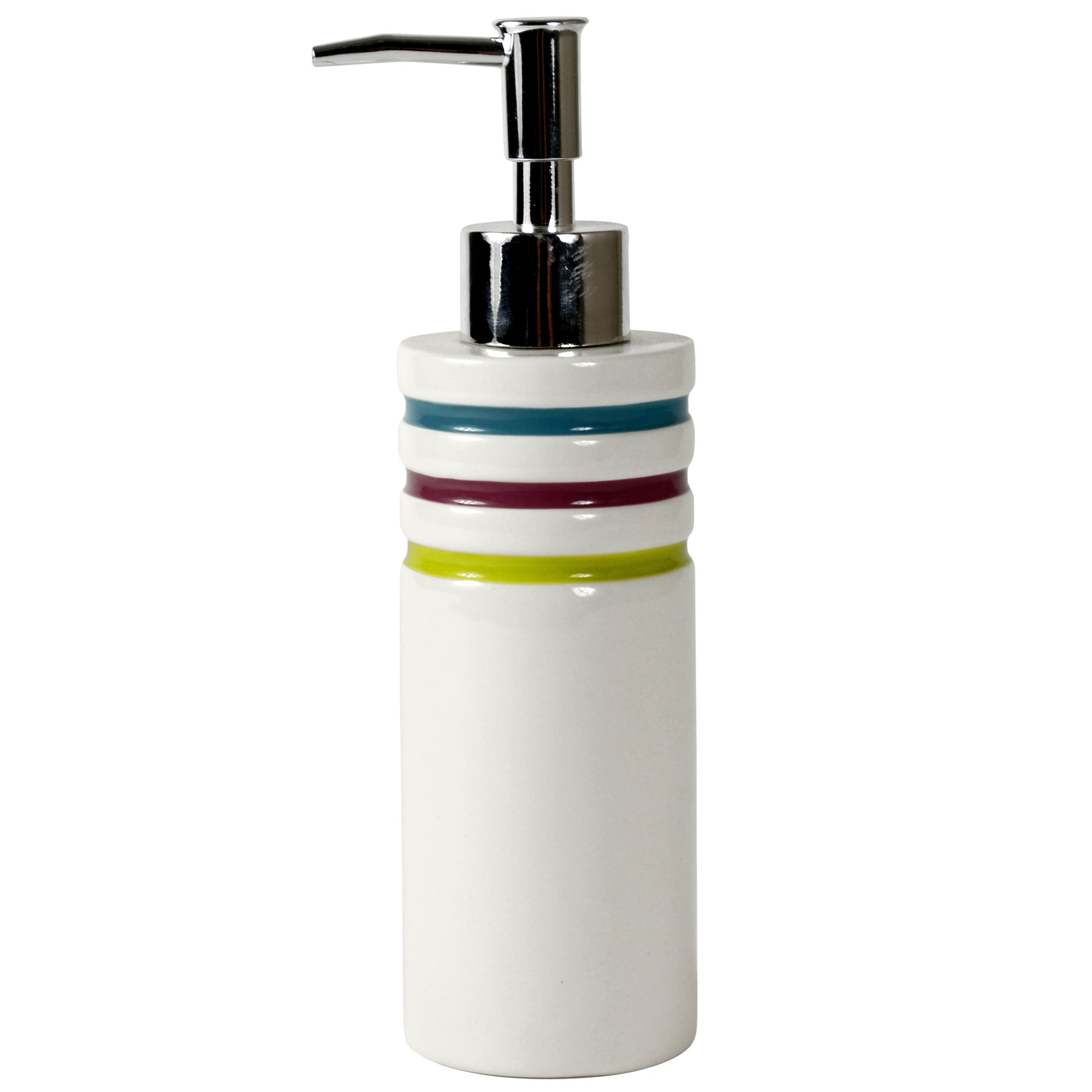 Haven Brights Collection Striped Hand Lotion Dispenser