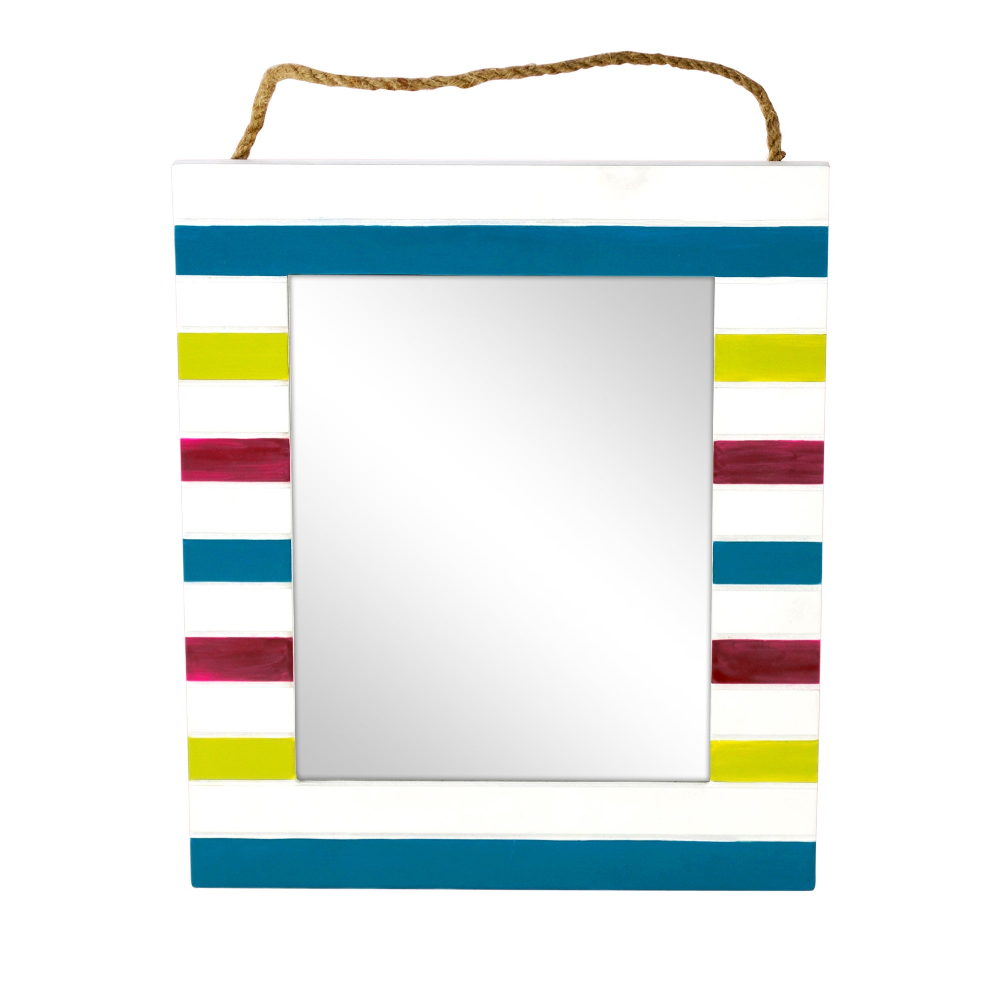 Haven Brights Collection Striped Photo Mirror