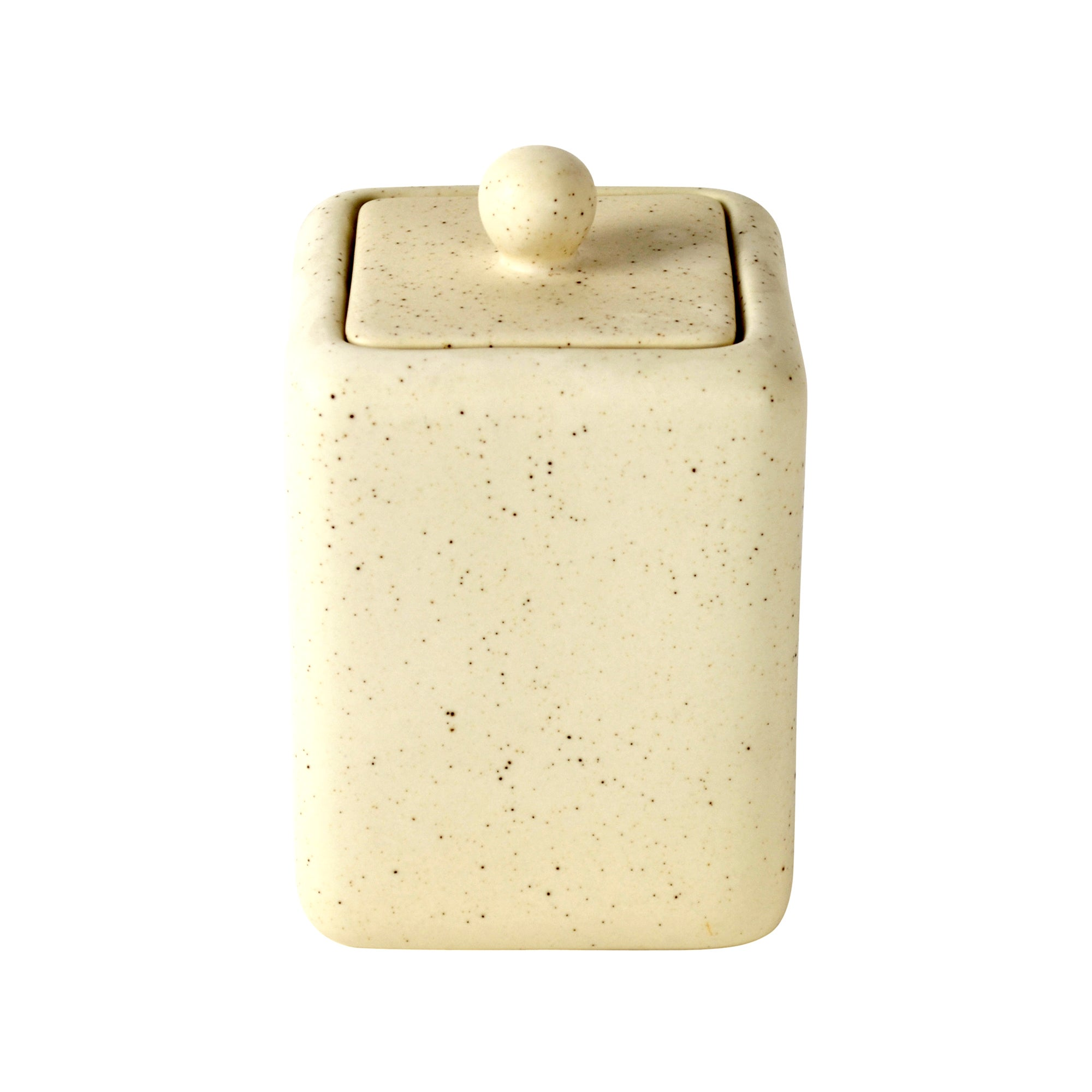 Naturals Collection Pebble Trinket Pot with Lid