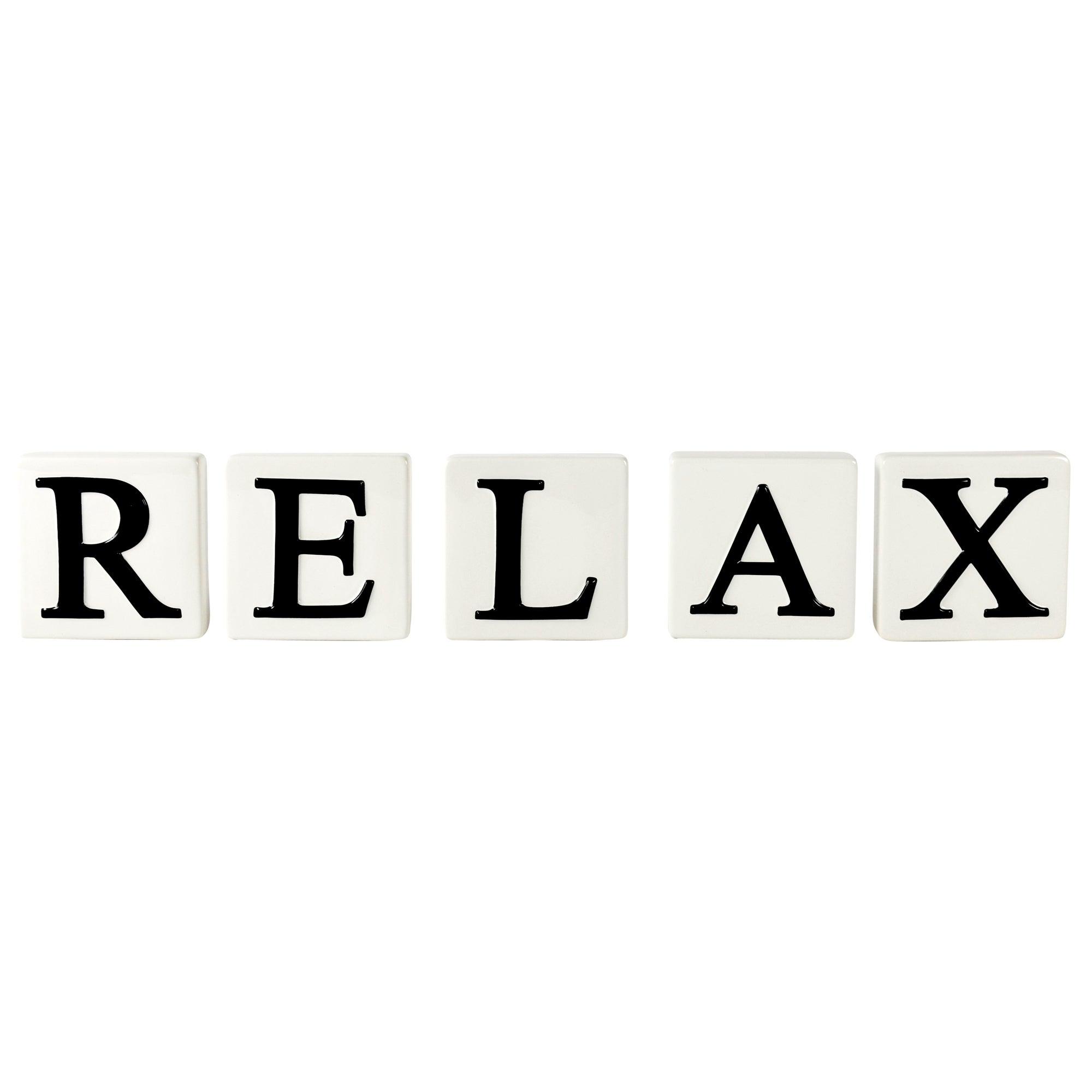 Relax Letter Blocks