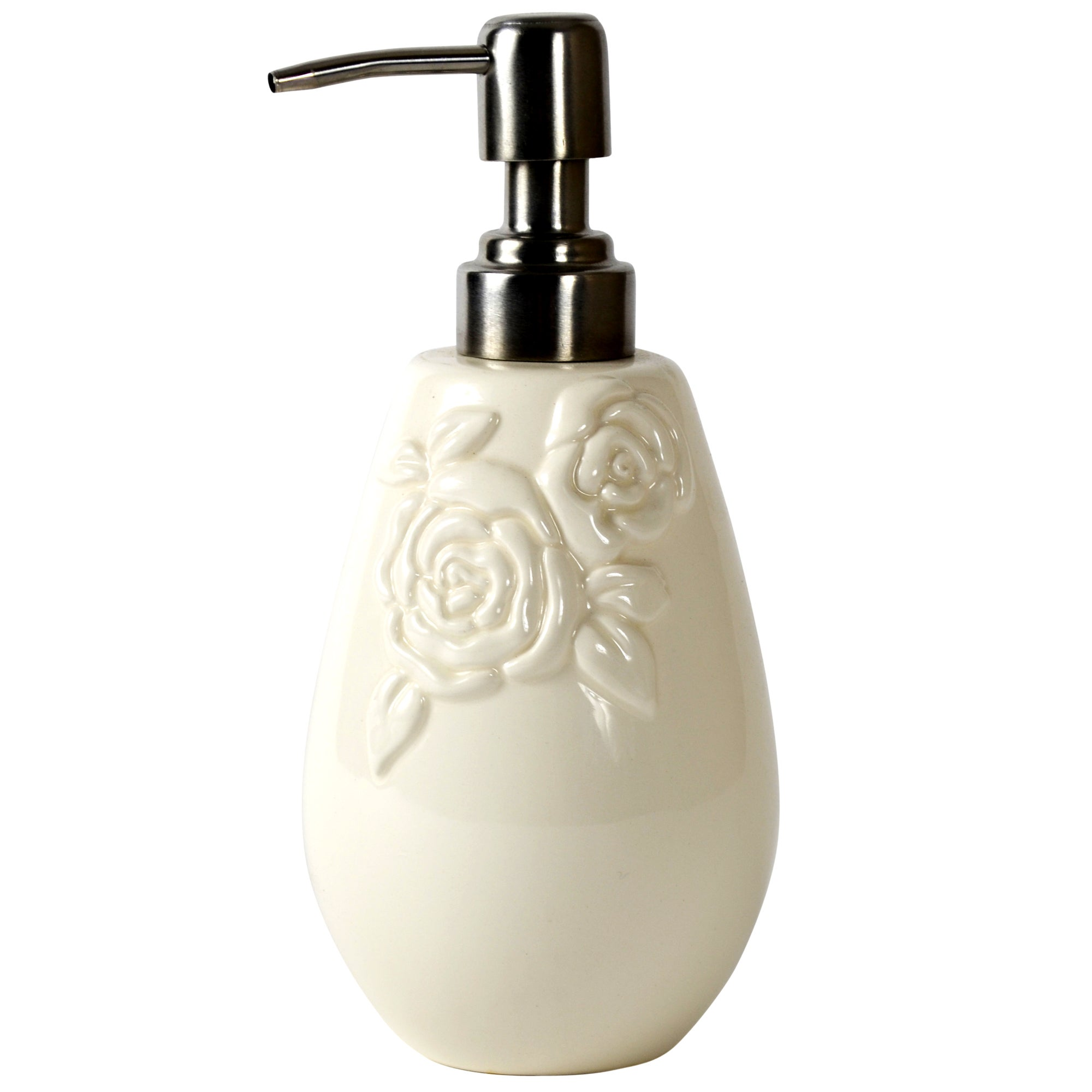 Rose Collection Embossed Lotion Dispenser