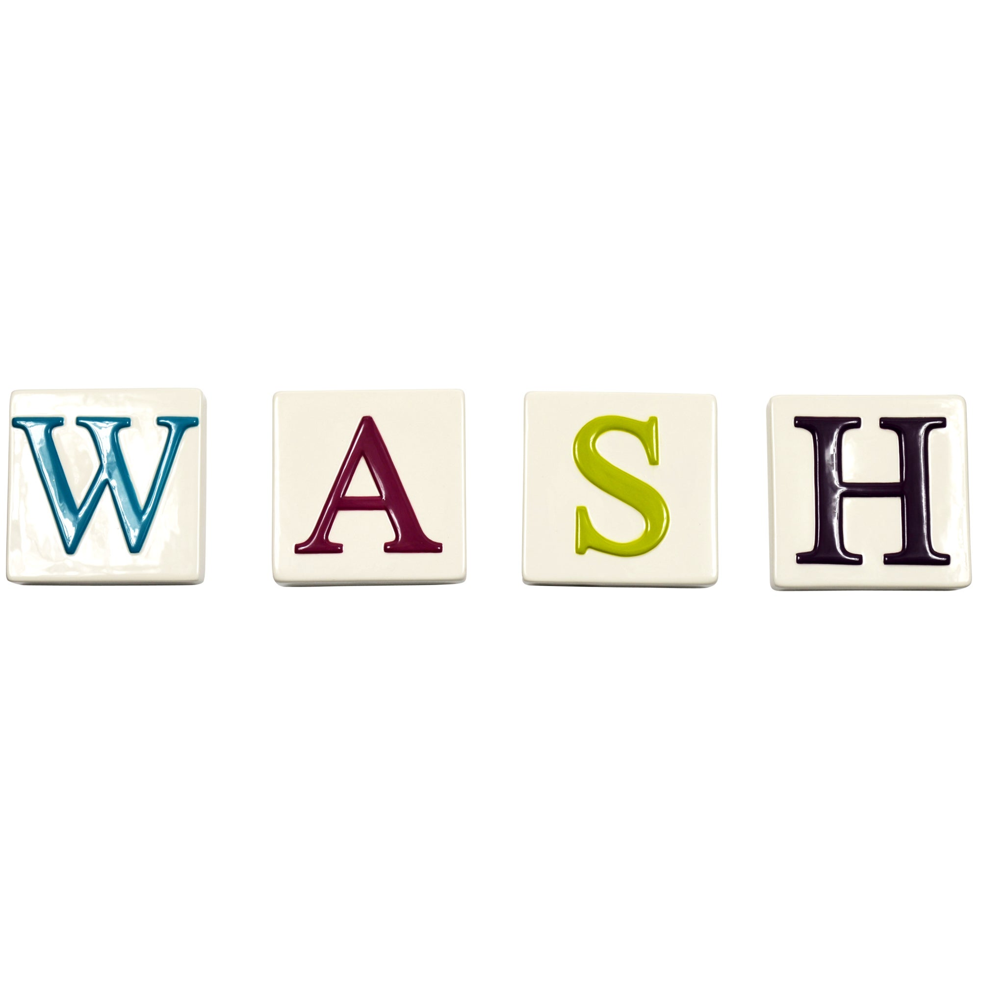Wash Letter Blocks