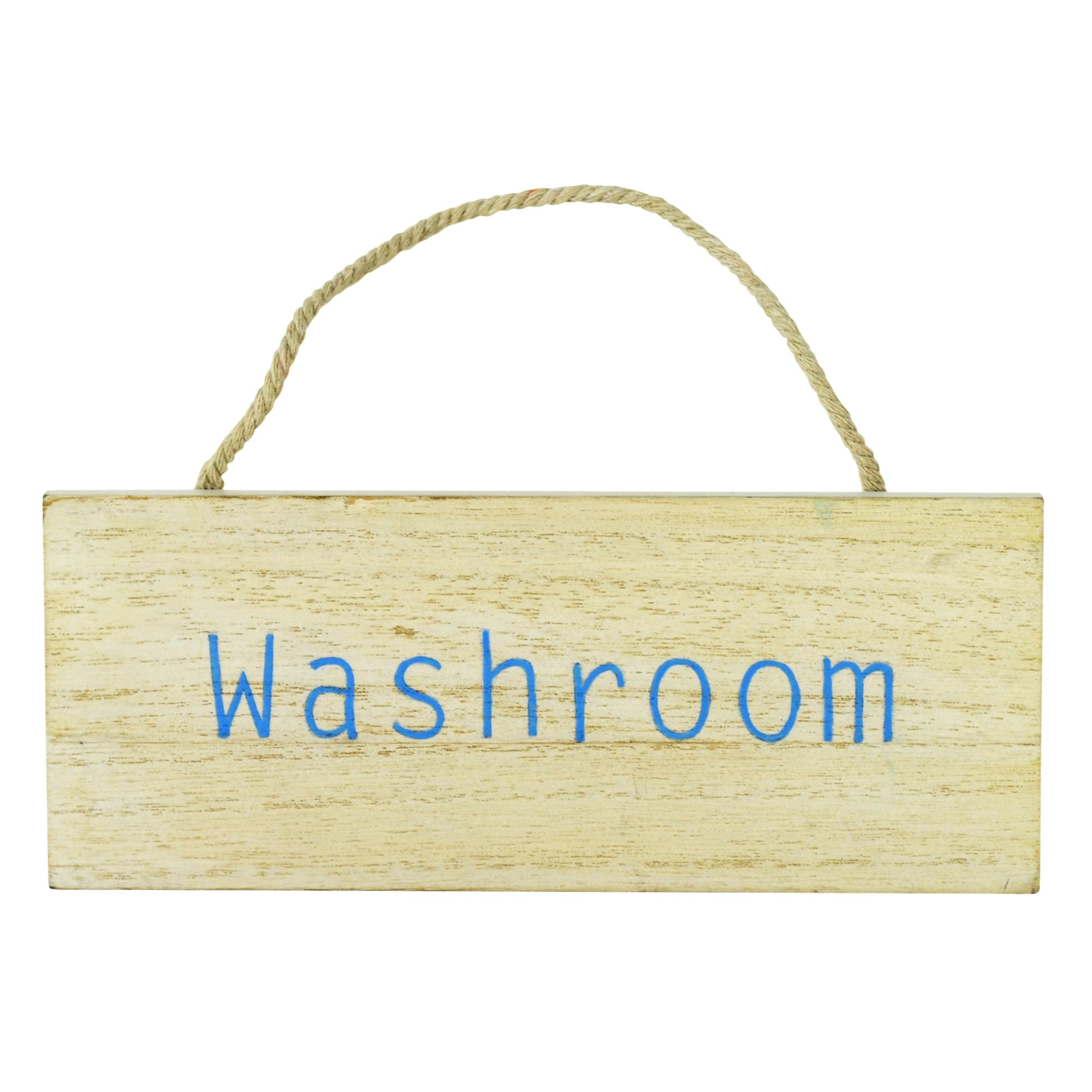 Nautical Collection Washroom Hanging Sign