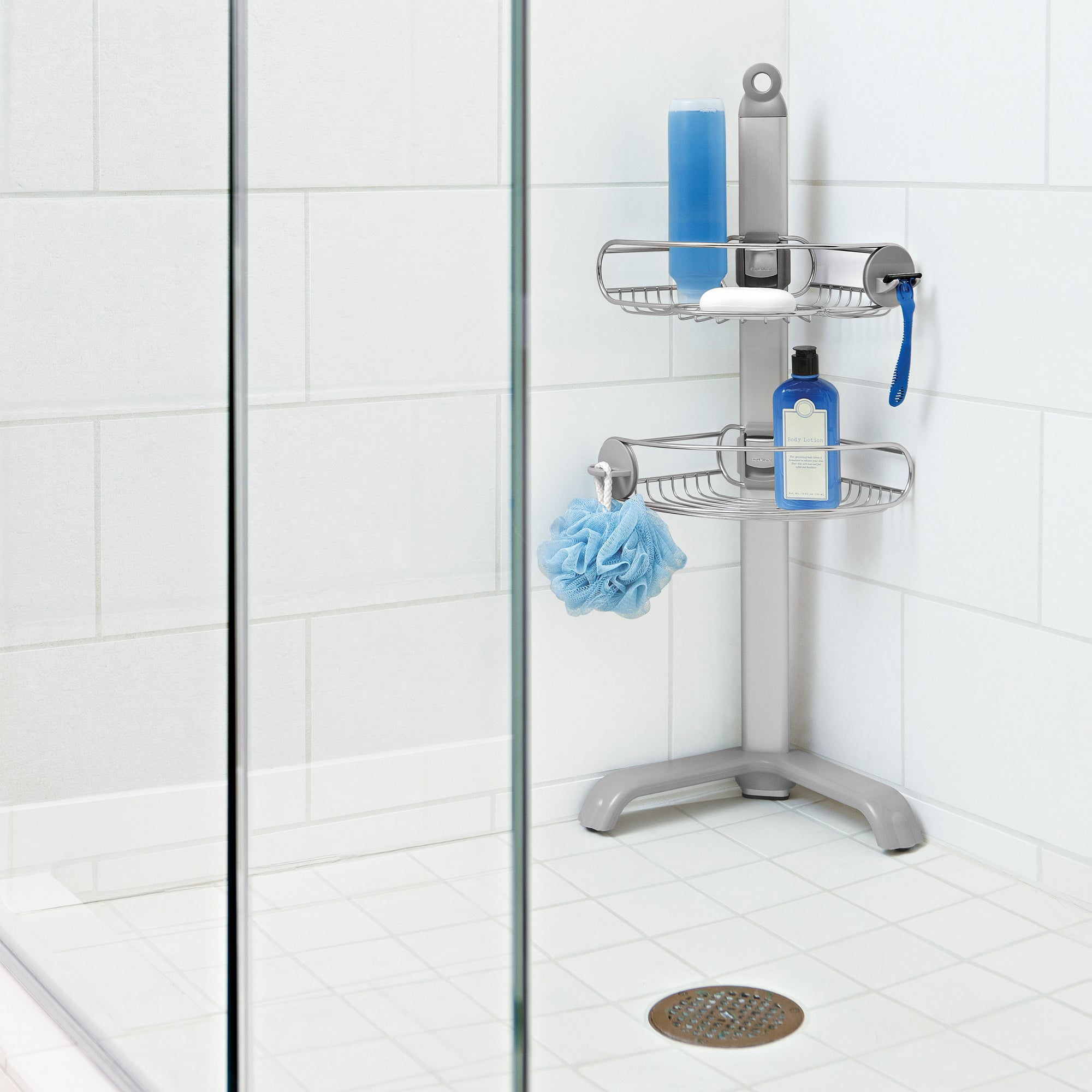 simplehuman Corner Shower Caddy