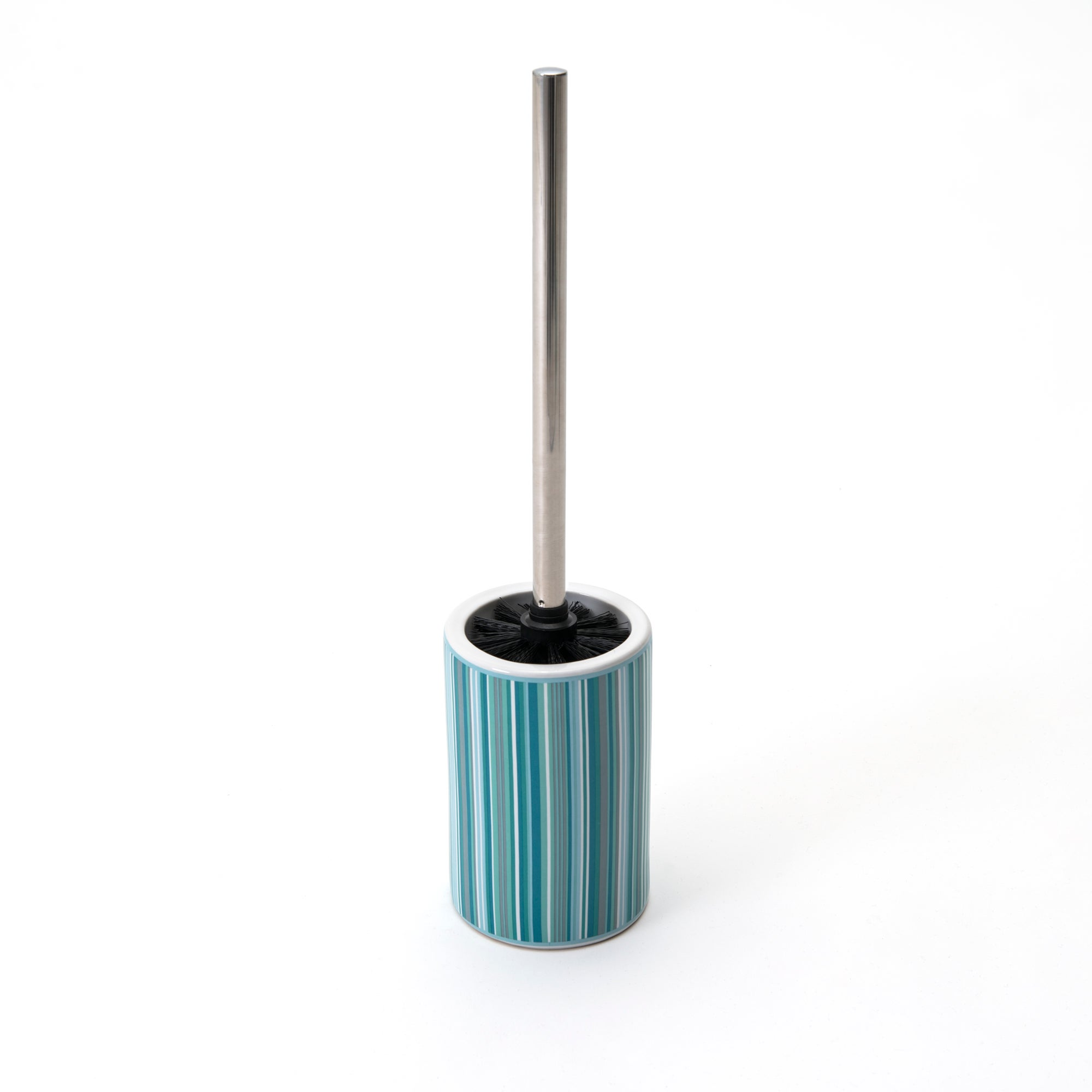 Teal Newhaven Collection Toilet Brush Holder