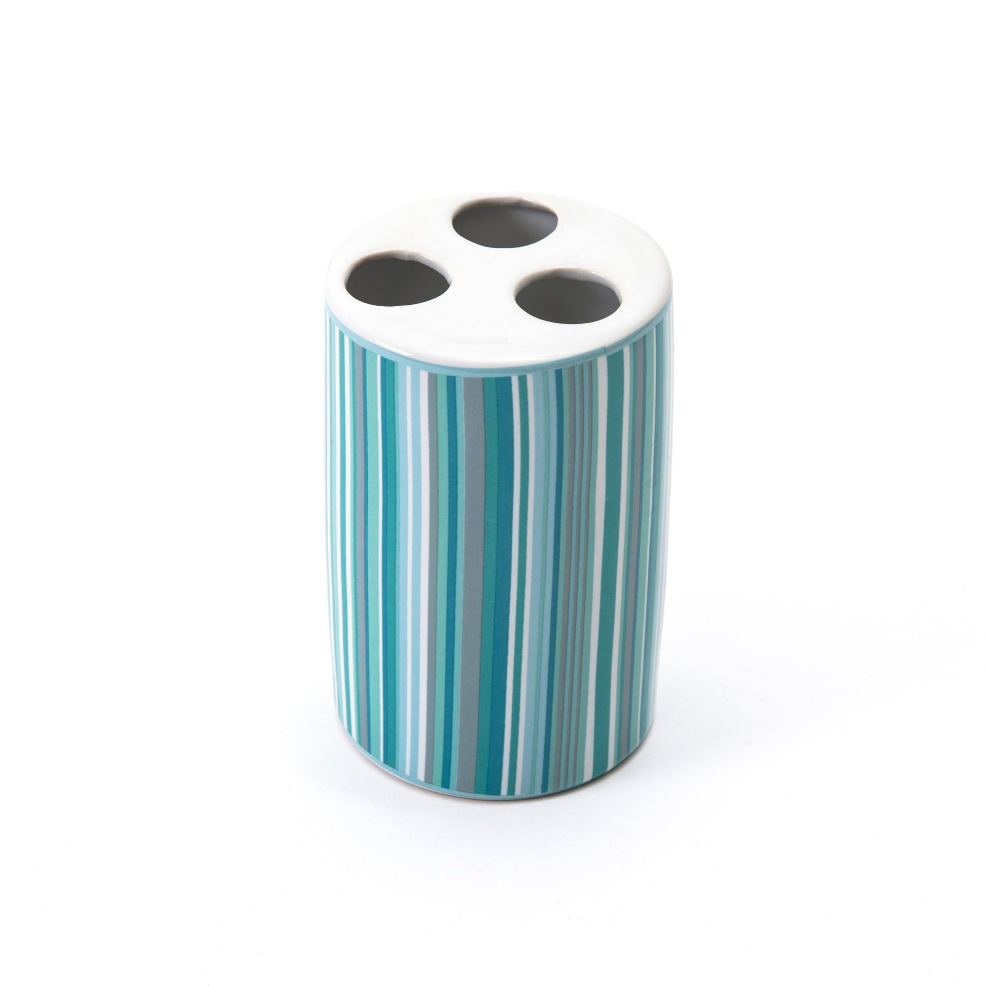 Teal Newhaven Collection Toothbrush Holder