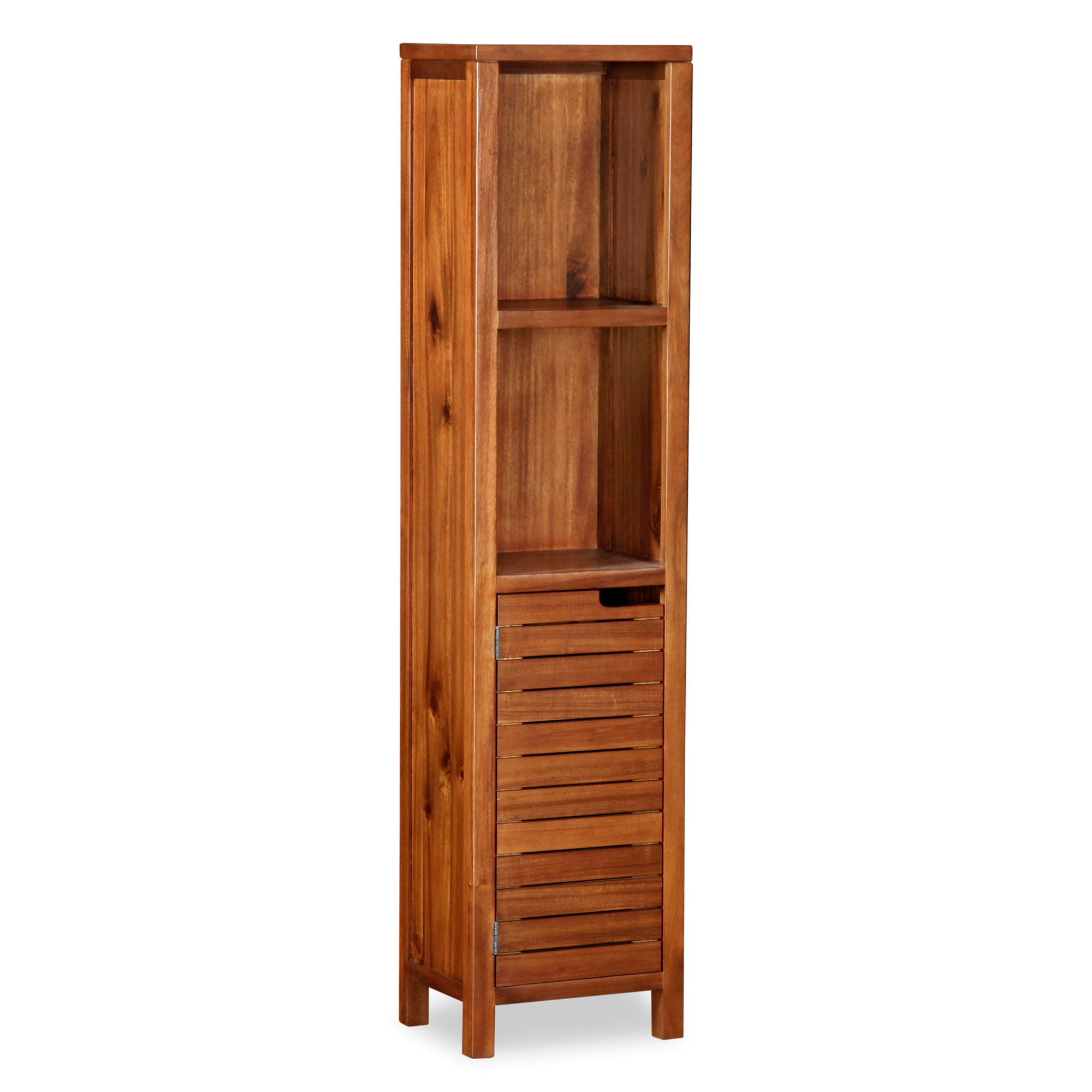 Marseille Acacia Slatted Tall Unit