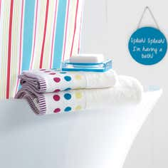 Country Spot Brights Towel