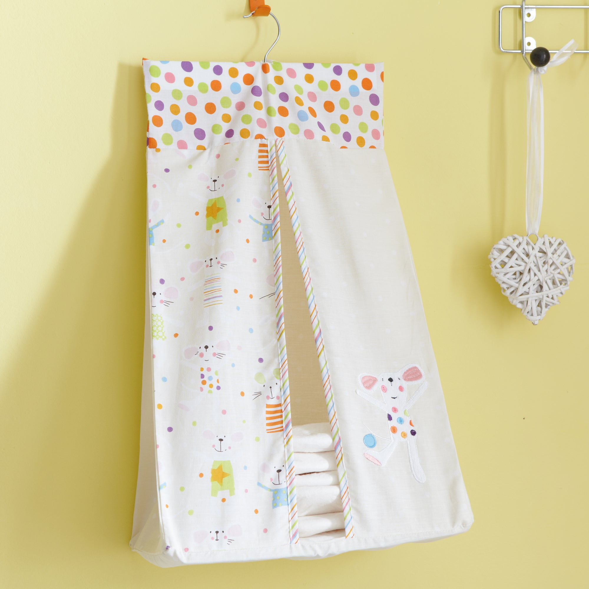 Kids Charlie & Friends Collection Nappy Stacker