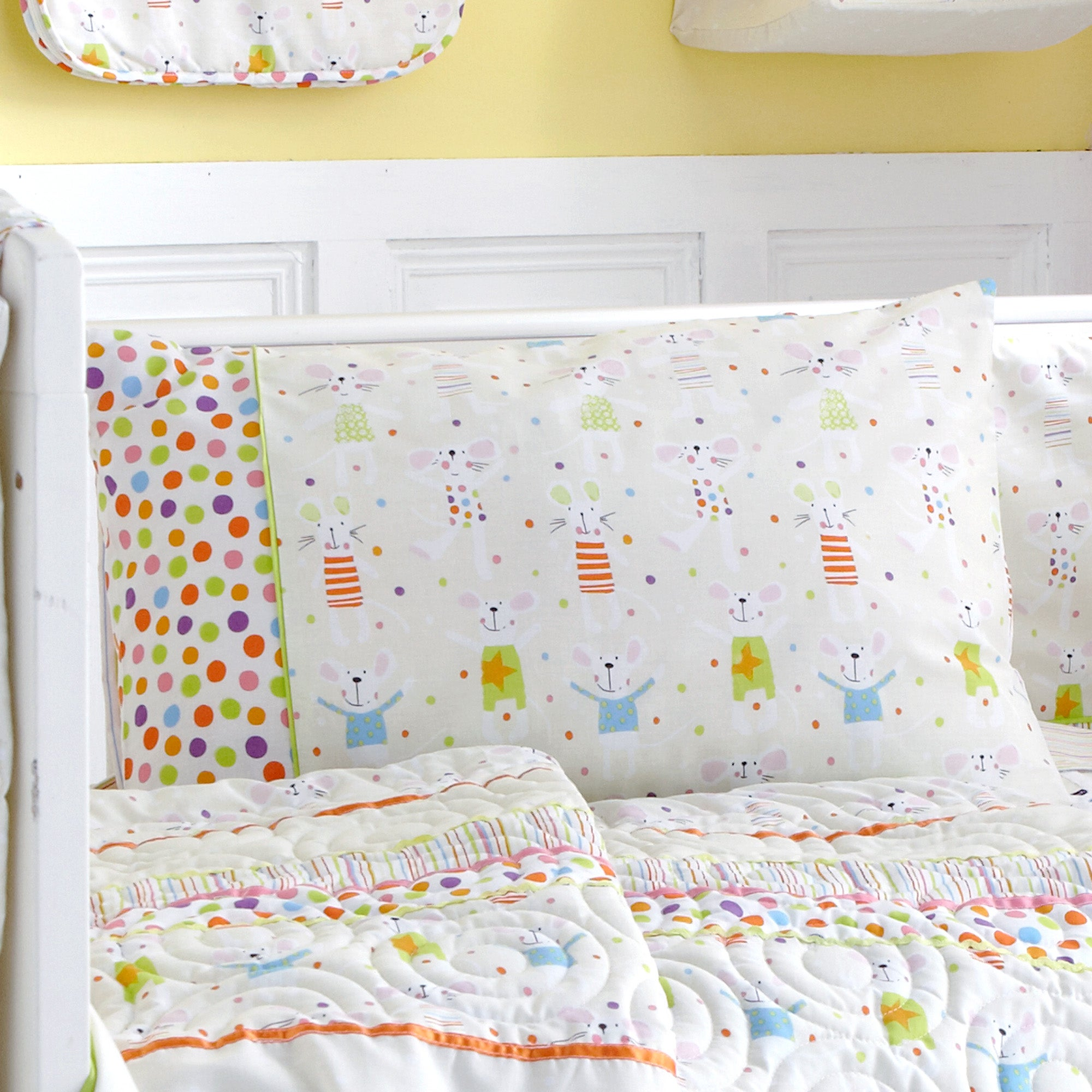 Kids Charlie & Friends Collection Pillowcase