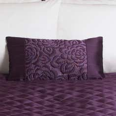 Plum Elizabeth Collection Filled Cushion