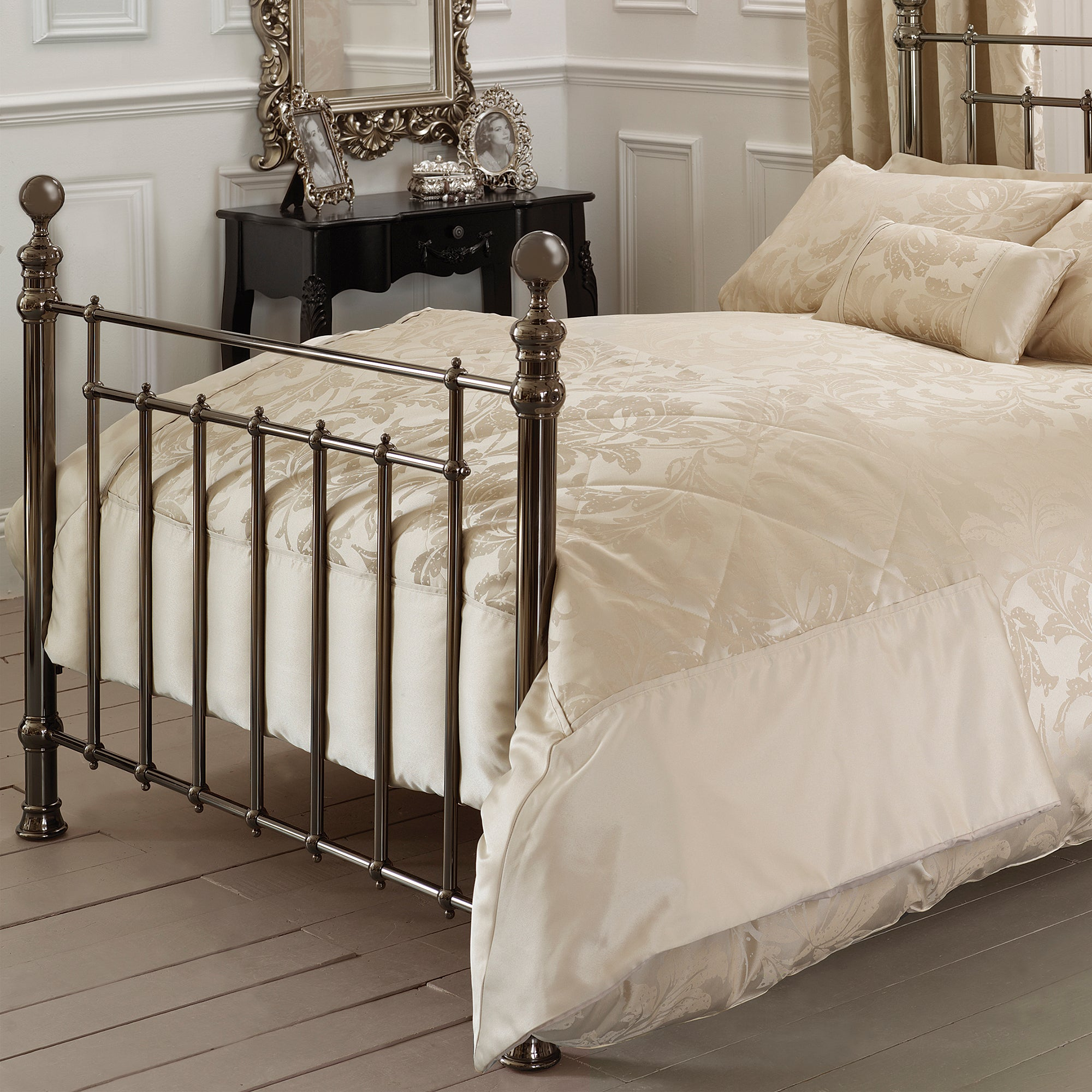 Gold Freya Collection Bedspread