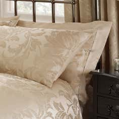 Gold Freya Collection Oxford Pillowcase