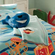 Kids Jolly Pirates Collection Fleece Throw